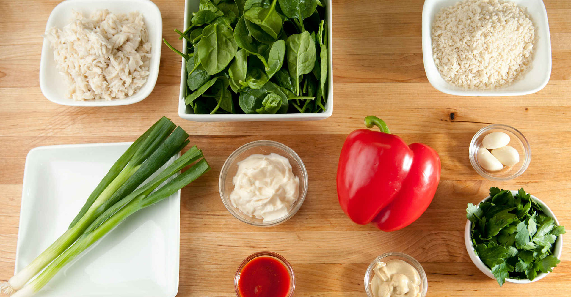 crab_cakes_with_spinach_ingredients